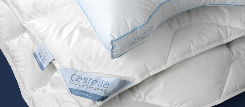 Bedding Castella Syntetisch Dekbed Kussen