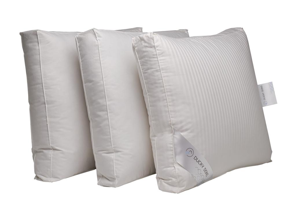Ducky Dons Kussen : Hoofdkussens bedding slaapcomfort