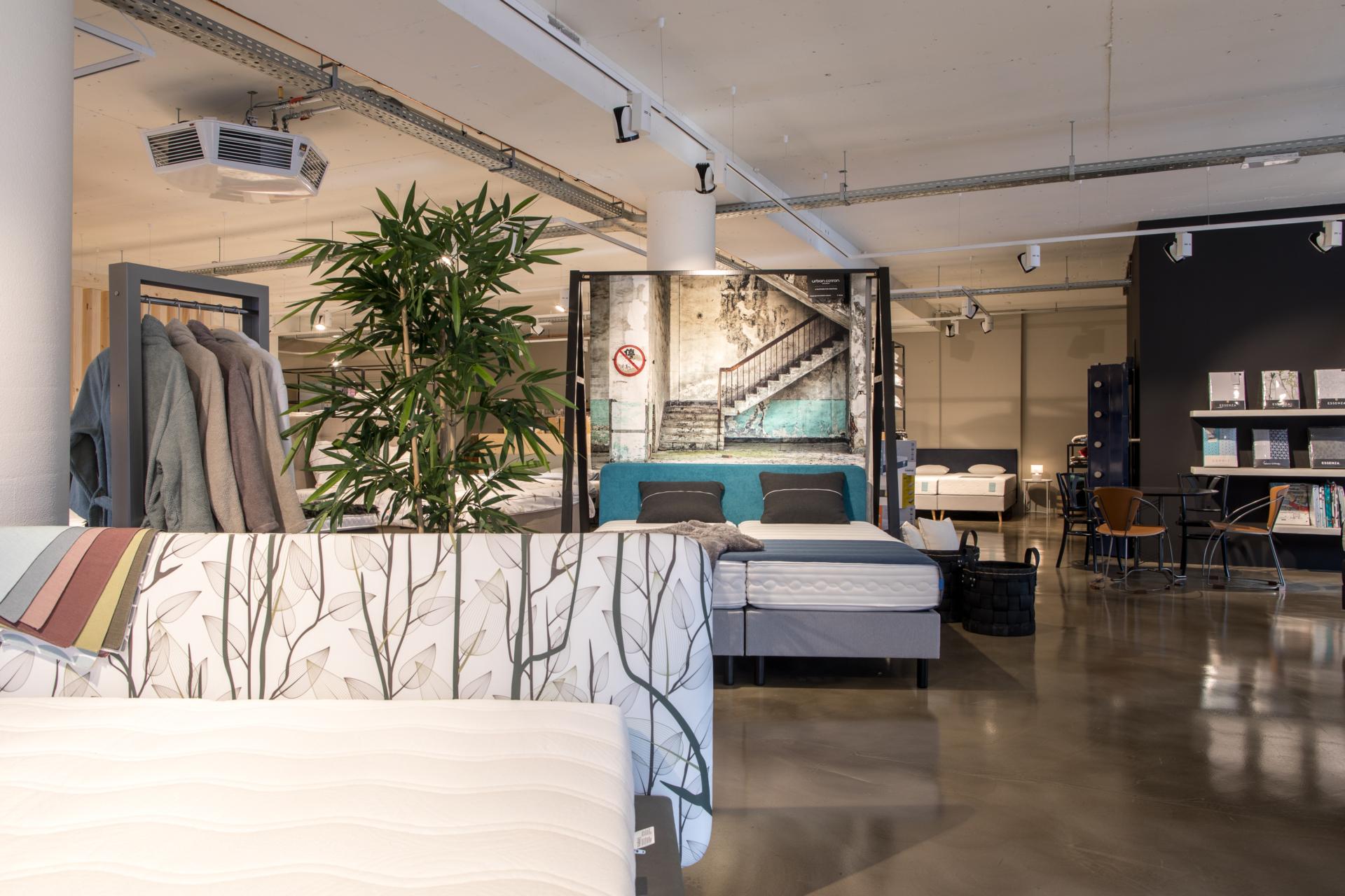 Bedding Slaapcomfort, onze showroom