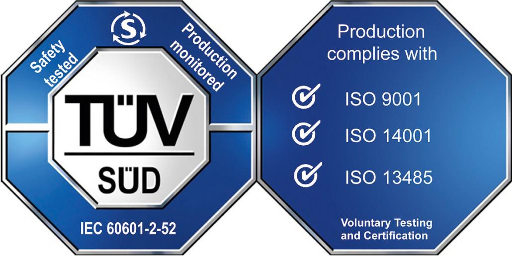 IEC2060601-2-52 keurmerk