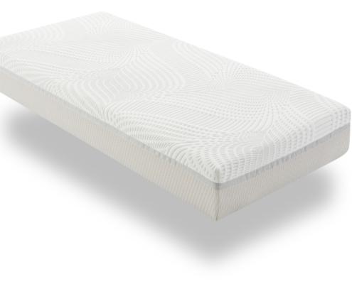 pocketvering hybride matras buitenkant